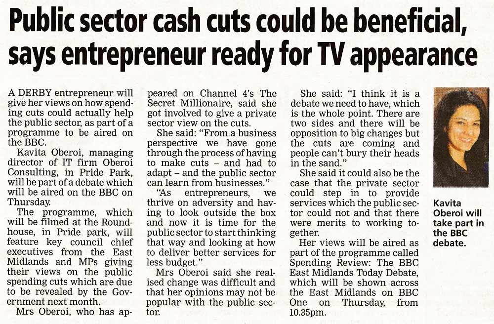 BBC Spending Review Debate