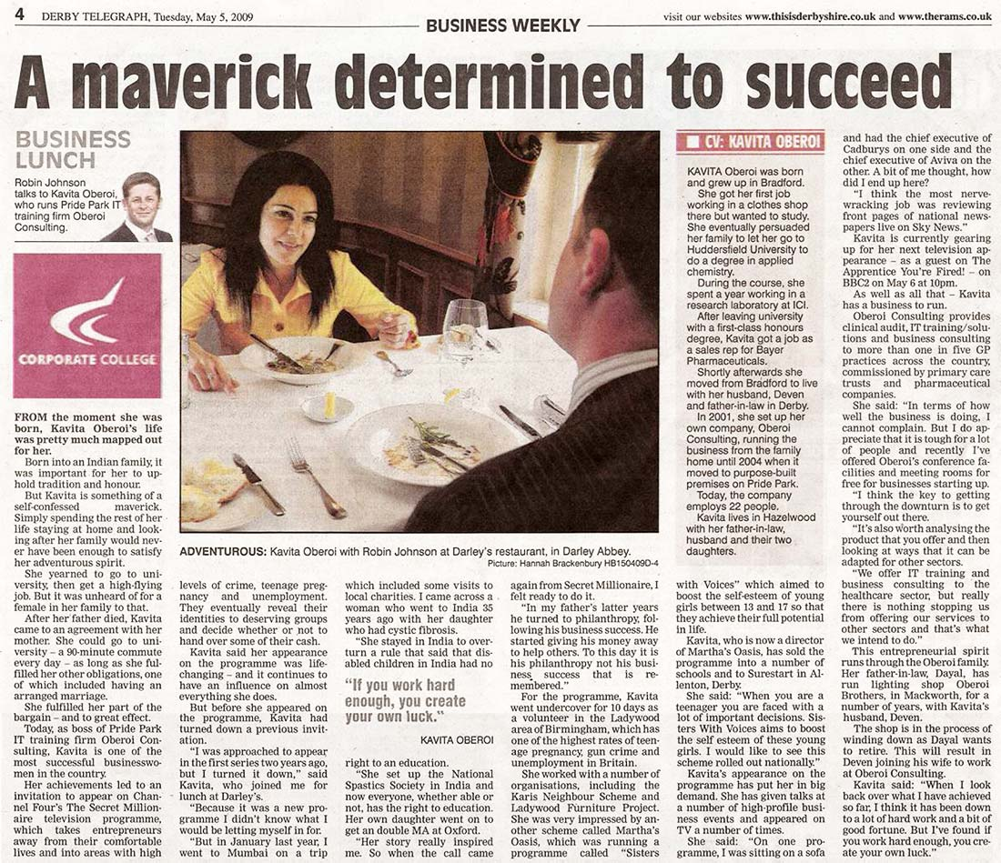A Maverick Determined to Succeed