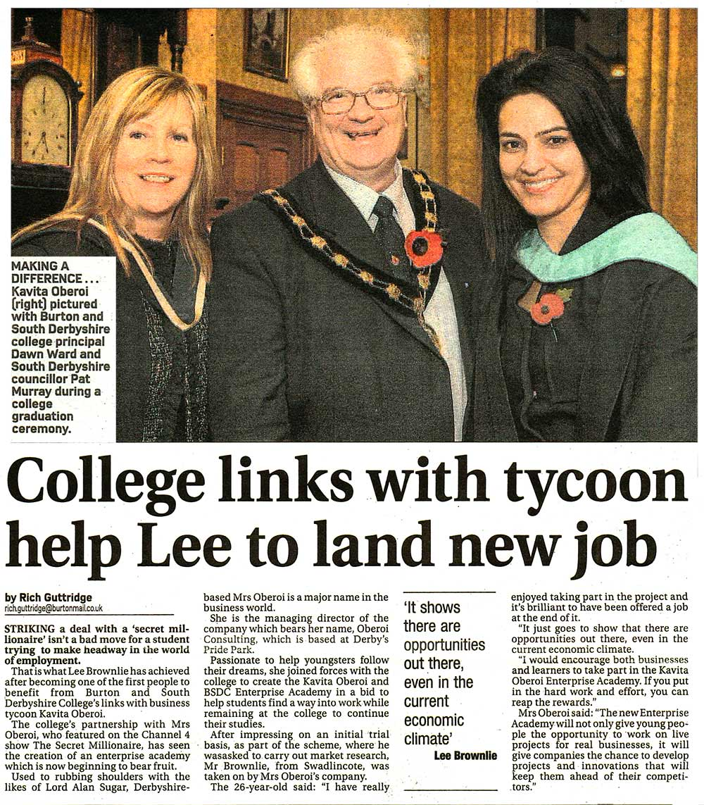College Links with Tycoon