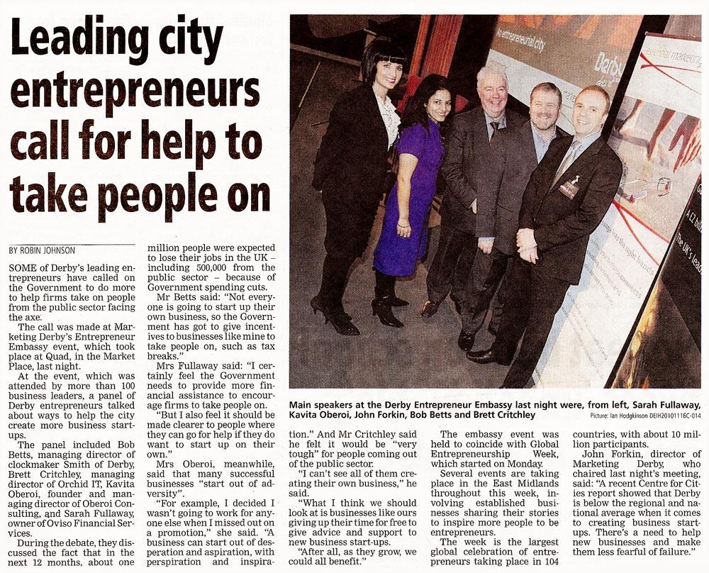 Derby Entrepreneur Embassy