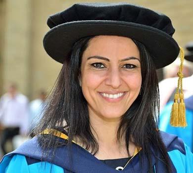 Honorary Degree from Huddersfield University 2009