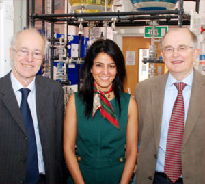 University of Huddersfield - Roger Jewsbury, Kavita Oberoi and Mike Page