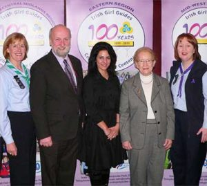 Irish Girl Guides Centenary in Dublin