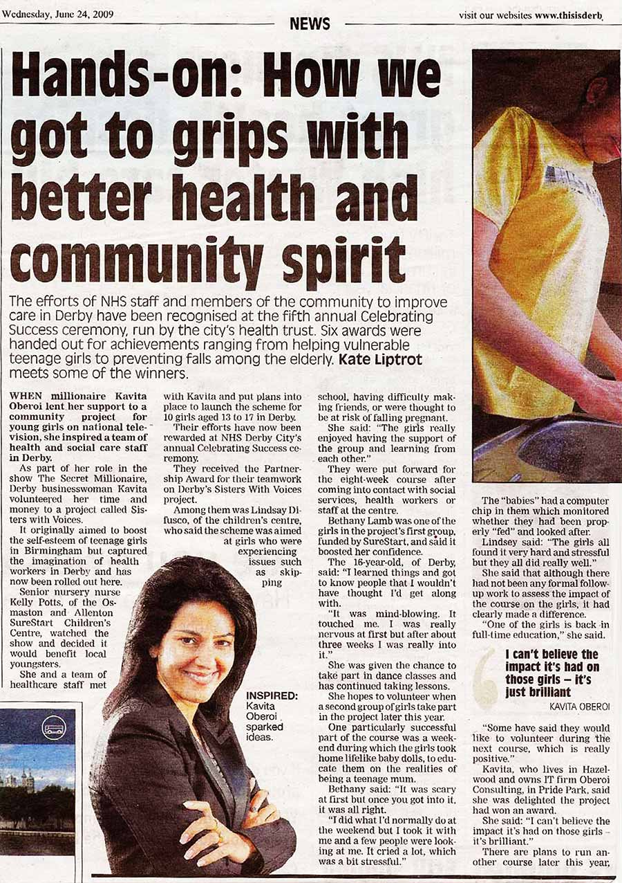 How We Got To Grips With Better Health and Community Spirit