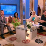 Kavita Oberoi and Carl Hopkins on the Richard and Judy TV Show