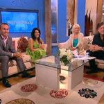 Kavita Oberoi and Carl Hopkins on the Richard and Judy TV Show