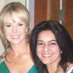 Kavita Oberoi with Amanda Holden