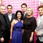 """Secret Millionaire"" Kavita Oberoi with Carl Hopkins and Apprentices"