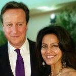 Kavita Oberoi with David Cameron