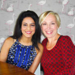 """Secret Millionaire"" Kavita Oberoi with Lowri Turner"
