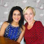 """Secret Millionaire"" Kavita Oberoi with Lowri Turner"