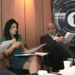 Kavita Oberoi with Shaf Rasul on Radio One