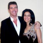Kavita Oberoi with X-Factor's Simon Cowell