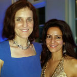 Kavita Oberoi with Theresa Villiers