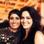 Kavita Oberoi with Naga Munchetty