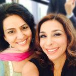 Kavita Oberoi with Shobna Qulati