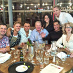 Kavita with Gordon Ramsay at Hotel GB