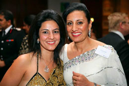 Kavita with Kamel Hothi - Niche Markets Director Corporate Banking LBG