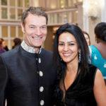 Kavita with RBS CEO Chris Sullivan