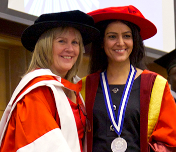 Kavita and Dawn Ward - HE Graduation