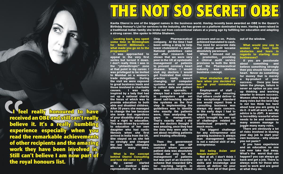 Not So Secret OBE