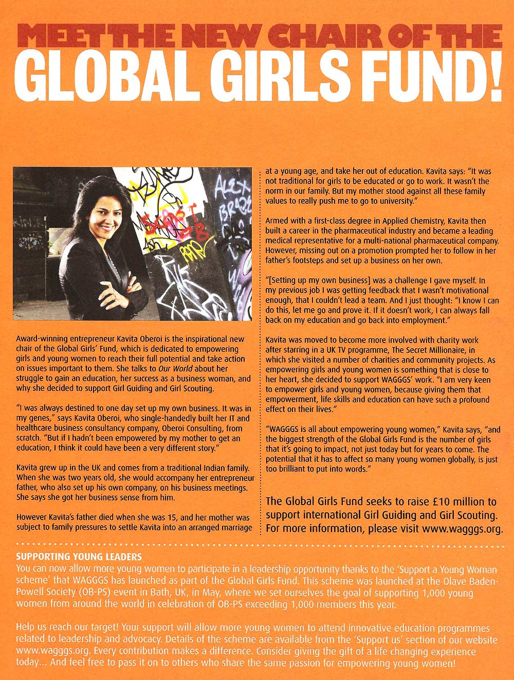 Meet the New Head of the Global Girls Fund