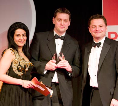 Pharmafield Awards 2008 with Chris Hollins