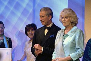 Prince Charles presenting AWA Awards 2005