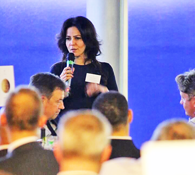 Kavita was invited to speak to over 100 business leaders and finance professionals at the National Space Centre planetarium, in Leicester, to celebrate the launch of ThinCats rebranding.