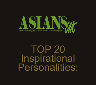 Asians UK Top 20 Inspirational Personalities 2015
