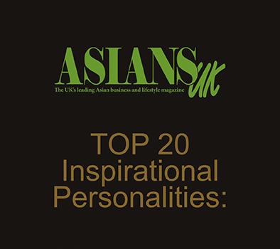 Asians UK Top 20 Inspirational Personalities 2015