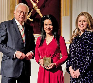 Beacon Award for Philanthropic Work 2013