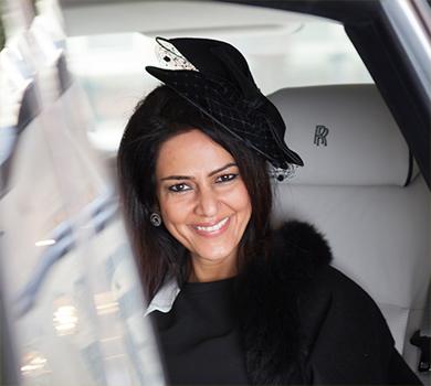 Kavita in Rolls-Royce