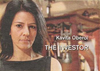 """Kavita in TV Role """"Make Me a Millionaire"""" – Kavita Oberoi OBE"""